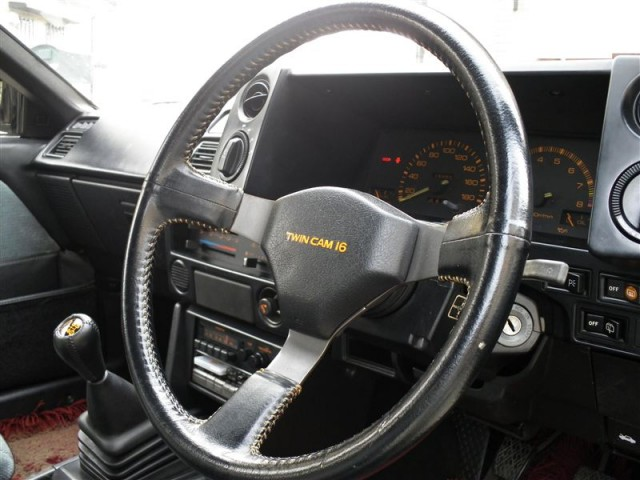 Toyota Sprinter Trueno AE86 Black Limited Steering Wheel