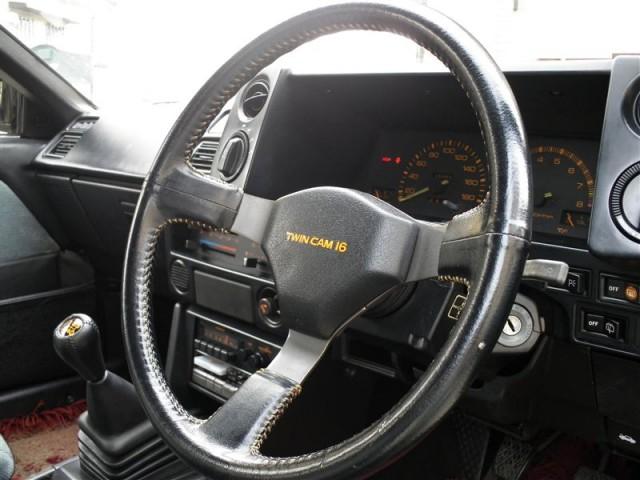 Toyota Sprinter Trueno AE86 Black Limited Steering Wheel