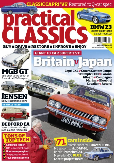 Practical Classics Magazine March 2014