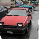 Down on the Street: well used Toyota Corolla AE86 GT-S
