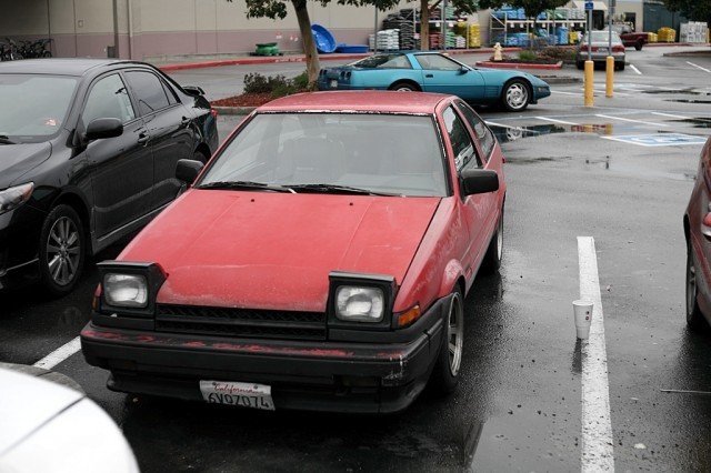 Down on the Street: Toyota Corolla AE86 GT-S