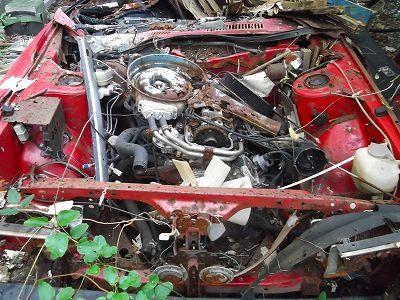 Japanese Rustoseums: cutaway Nissan Bluebird 910 SSS