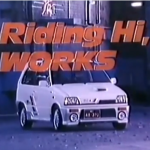 Commercial Time: Riding hi, Suzuki Alto Works CA72