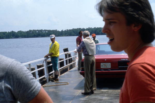 Paul Newman Skyline Fort Gates Ferry in Floria