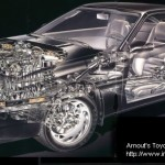 Picture of the Week: Toyota Supra MA70 cutaway drawing