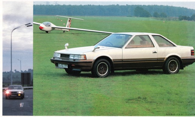 German Toyota Soarer MZ11 and glider