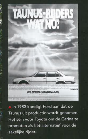 Toyota Carina TA60 vs Ford Taunus
