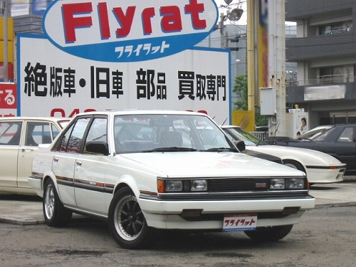 Flyrat Toyota Carina 1800 GT Twin-Cam Turbo