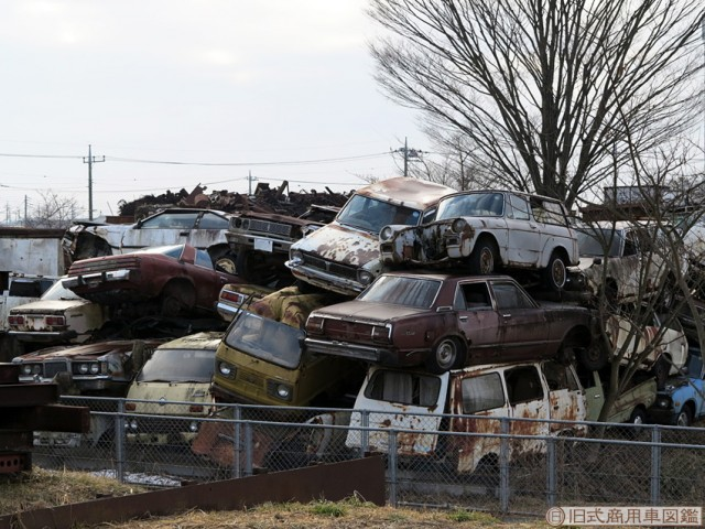 Japanese Rustoseums: the rare junkyard