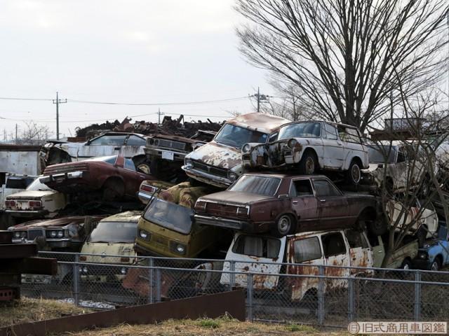 Japanese Rustoseums: the rare junkyard