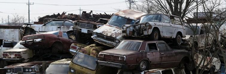 Japanese Rustoseums: the very rare junkyard