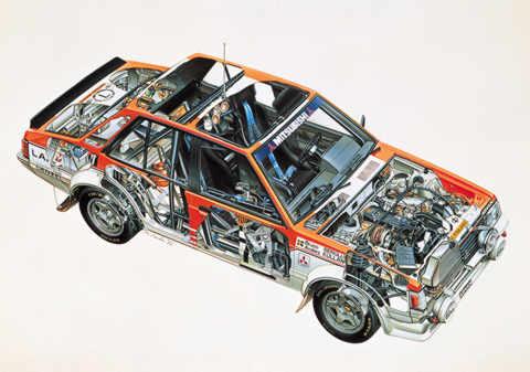 Mitsubishi Lancer Turbo A176A
