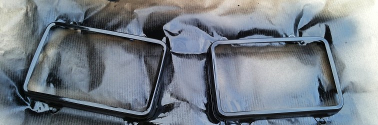 My Carina: Carina AA63 double headlights assembly part 1