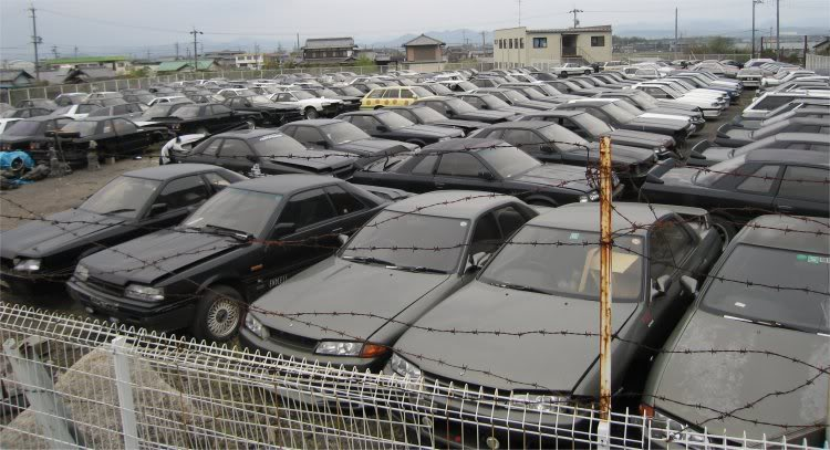 Count the Nissan Skyline R31s at R31House - Banpei.net