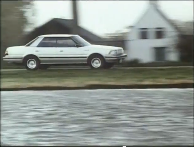 Commercial time: Toyota Crown S120 in the Netherlands