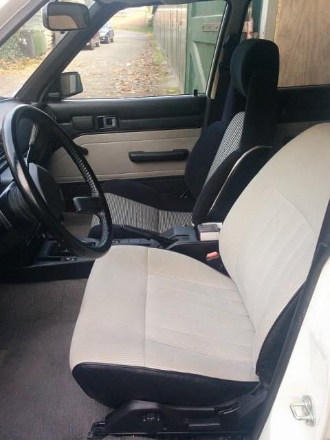 My Carina: Celica Supra seat upgrade