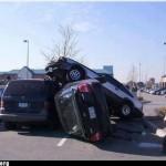 Hilarious: Toyota Celica Supra Mk2 parking fail