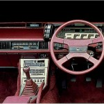 Brilliant: Mitsubishi Starion digital dashboard