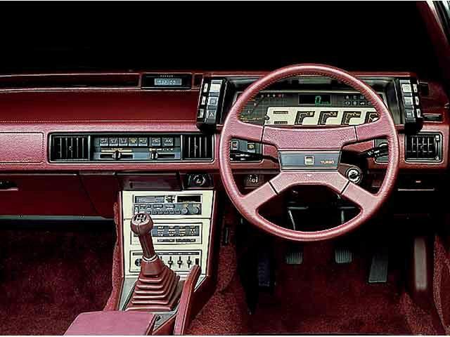 Mitsubishi Starion Digital Dashboard