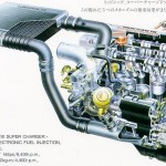 Picture of the Week: Toyota 4AGZE engine cutaway drawing