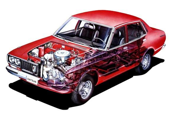 Datsun 180B Cutaway drawing