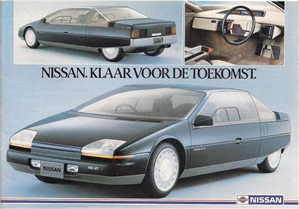 1983 Nissan NX21 concept car
