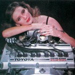 WTF: Hugging a Toyota 3T-GTE engine