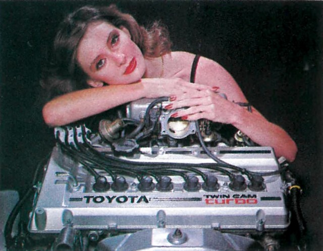 Toyota 3T-GTE engine hug