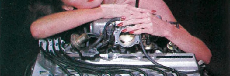 WTF: Hugging a Toyota 3T-GTE engine