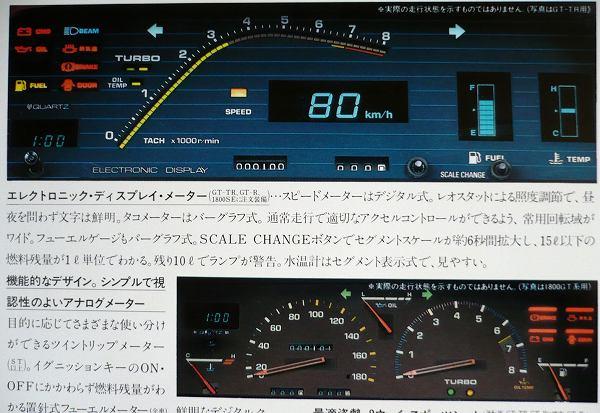 Toyota Carina GT-TR TA63 Digital Dashboard