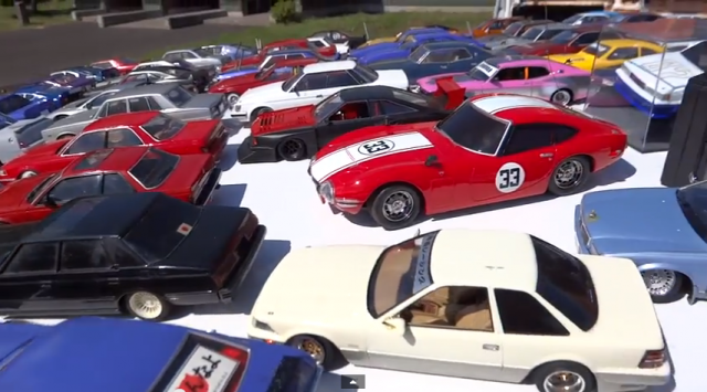 Brilliant: Showa scale model cars