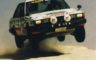 Carina Sightings: Toyota Carina ST at Paris-Dakar