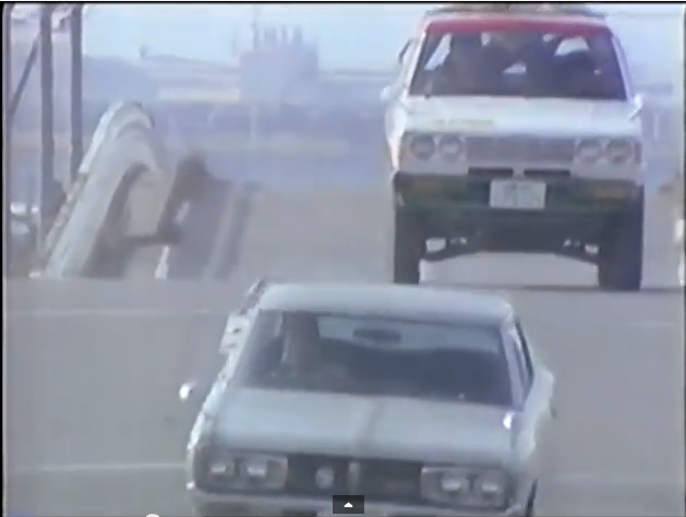 Friday Video: Cartoonish Nissan Laurel C130 car chase