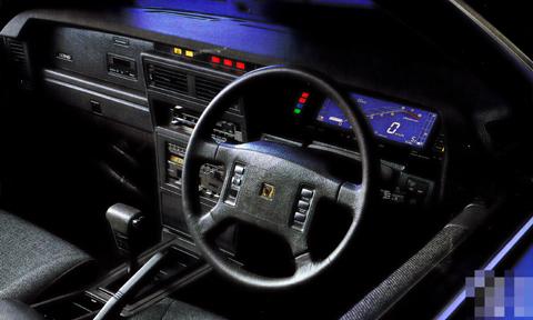 Nissan Leopard F31 digital dashboard