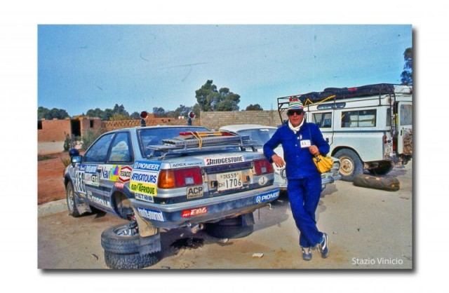 Picture of the Week: Toyota Corolla Levin AE86 at Paris-Dakar 1984