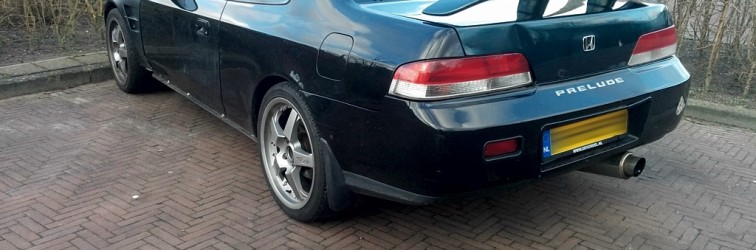 Down on the Street: updated Honda Prelude Mk5