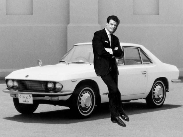 Nissan Silvia CSP311 and the Saint (Roger Moore)