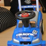 Family Album Treasures: Calsonic Skyline R34 toddler car