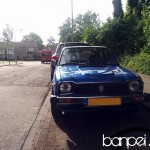 Down on the Street: Blue 1979 Honda Civic Mk1