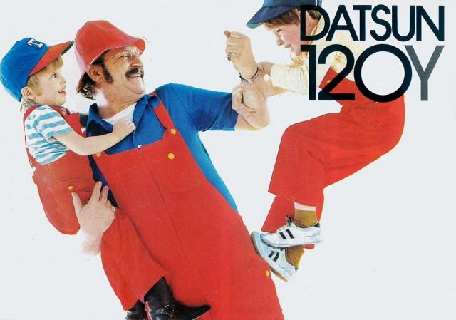 Super Mario Datsun Sunny 120Y