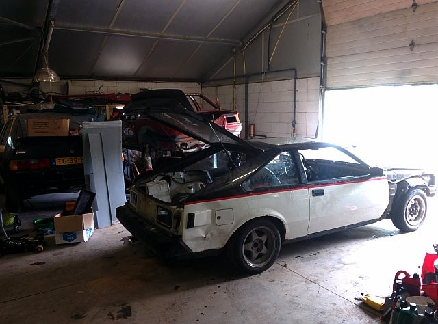 Moving the Celica AA63