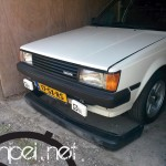 My Carina: today I bought myself a JDM Toyota Carina GT bumper!