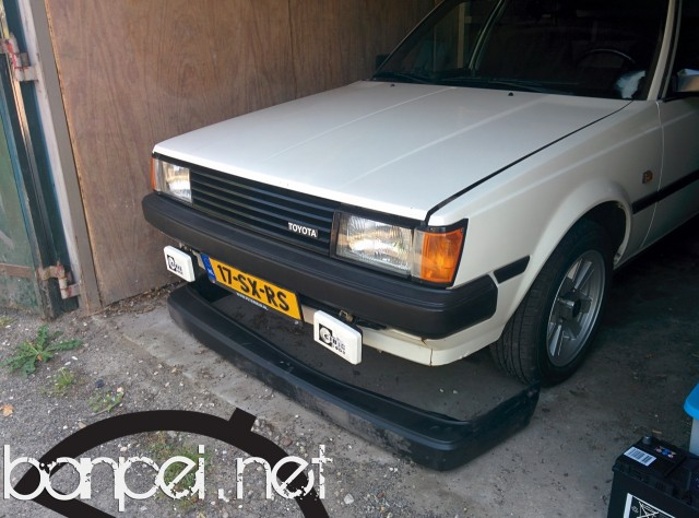 JDM Carina GT bumper