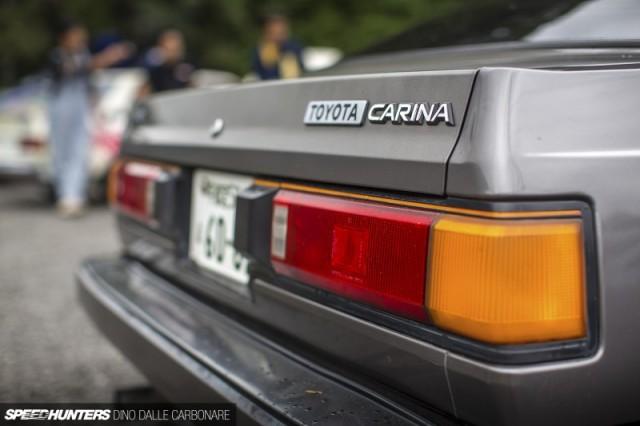 Toyota Carina GT-R AA63 at Nikko Circuit