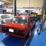 Carina Sightings: Toyota Carina GT-R AA63 on wide steel rims