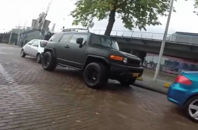 Down on the Street: Wrapped Toyota FJ Cruiser