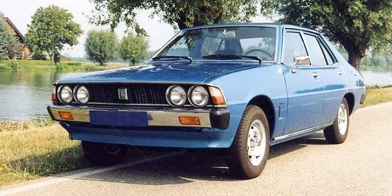 Mitsubishi Galant double round headlights