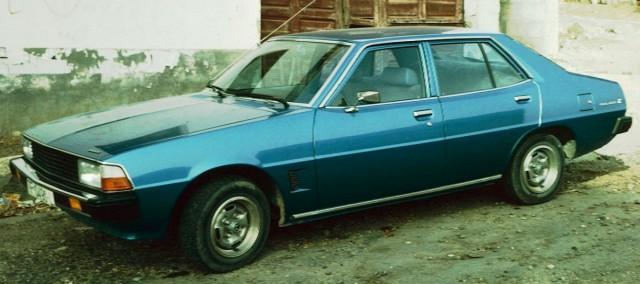 Mitsubishi Galant single square headlights