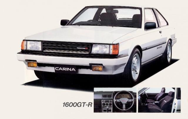 Toyota Carina GT-R AA63 Coupe - Carina A60