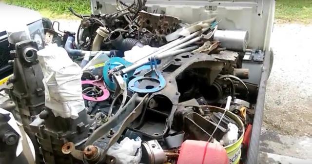 Toyota AE86 trash